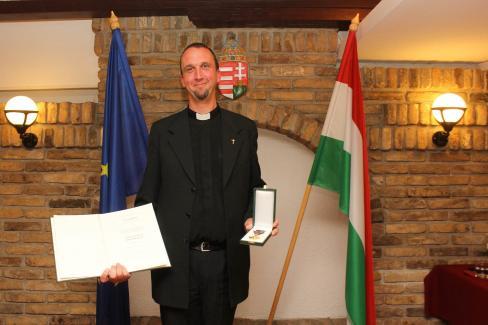 Utcai Róbert atya szerint nem érdemelte meg a kitüntetést (Fotó: Diósi Árpád)