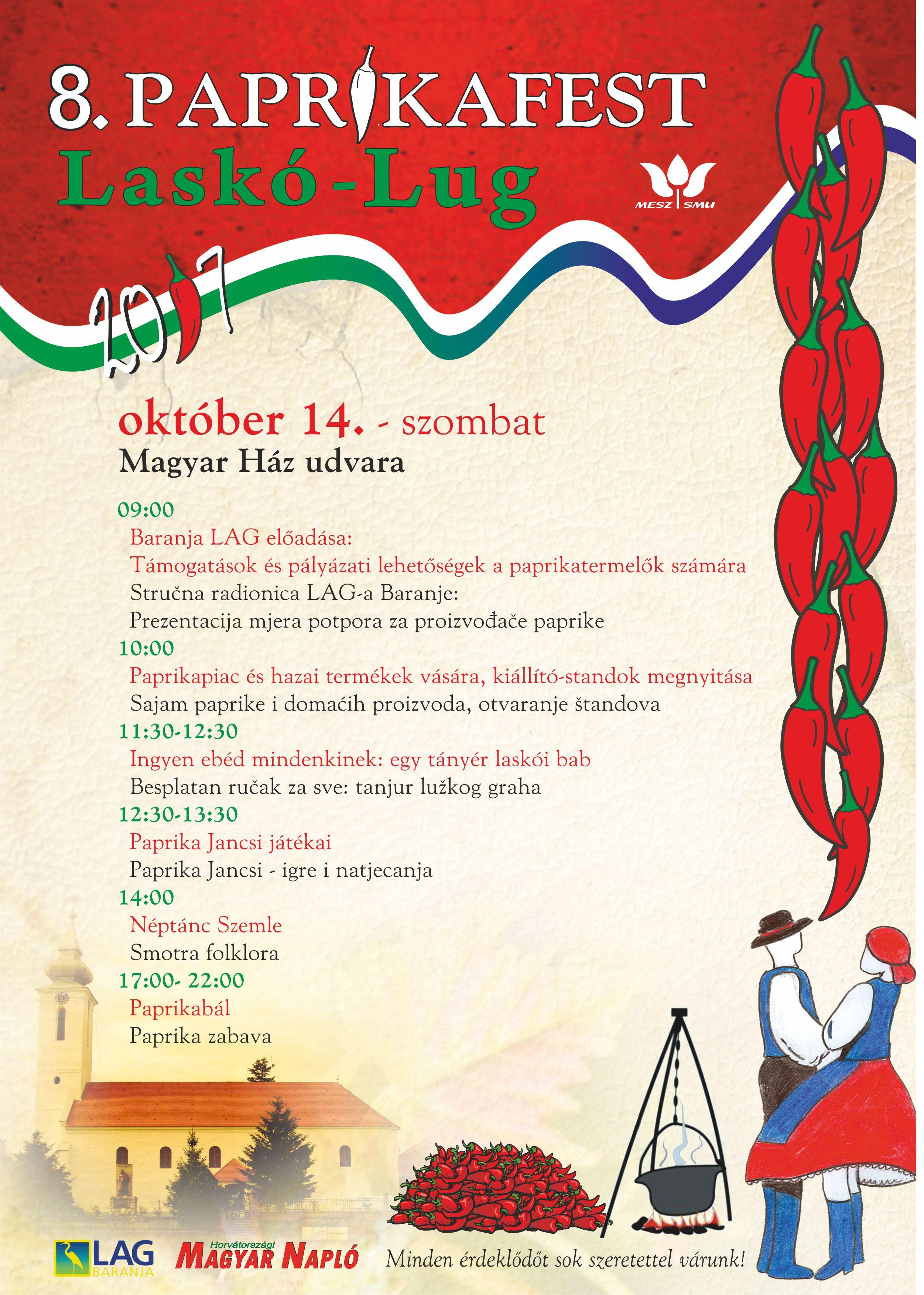 Plakat Paprikafest 2017